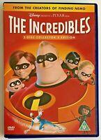 The Incredibles (DVD, 2005, 2-Disc Set, Box Set) Animated Super Hero Film, R2