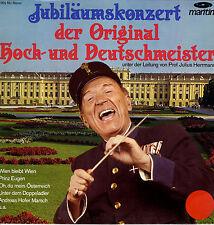 LP Jubliläumskonzert der Original Hoch- und Deutschmeister - Julius Herrmann