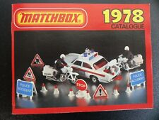 Matchbox Katalog - Collectors Catalog 1978 NEU-OVP