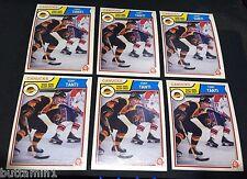 TONY TANTI 1983-84 O-Pee-Chee Hockey LOT of ( 6 ) Pack Fresh RC Card #362