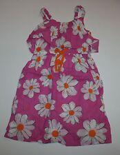 Nuevo NEXT GB Rosa Blanco Vestido de verano con flores 6 Year OR 116cm ETIQUETA