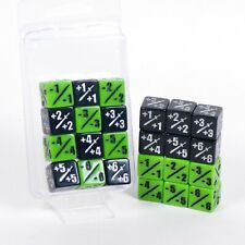 MTG -1/-1 and +1/+1 Counter 12d6 Combo Pack Dice Set Magic The Gathering