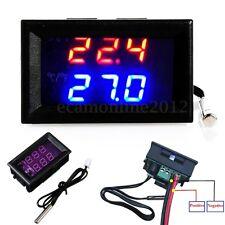 LED DC 12V -50-110°C Digital Temperatura Controlador Termostato Interruptor