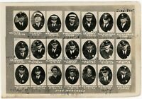 Portland Oregon  Fire Department Fire Marshals   orig 1930s photo