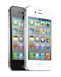OB Apple iPhone 4S 8GB/16GB/32GB White, Black GSM Unlocked