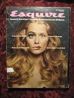 ESQUIRE December 1968 Lauren Hutton Walter Matthau Norman Mailer Joe Namath