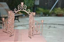 Charming Mini Portal Candle Holder  Wrought Iron