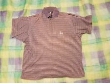 Original STÜSSY Polo-Shirt - Blue - Extremely rare - Used condition - Size L
