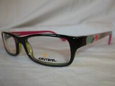 CANTERA YOUTH EYE GLASSES FRAME DEFENSE BLACK PINK CAMO 50-17-135 NEW AUTHENTIC