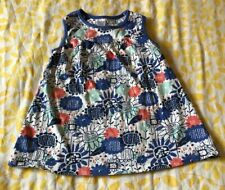 Blue Floral Top From Boots Miniclub In Size 9-12 Months