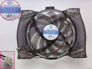 Onda GT220 240 9600 9800 R4870 5750 6570 graphics card fan DF0901512BSL2B Ball