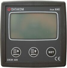 DATAKOM DKM-409 Painel do multímetro do analisador de rede (3 fases)