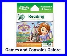 NEW LeapPad Ultiamte game, Sofia the First Reading, Leap Pad Explorer LeapFrog