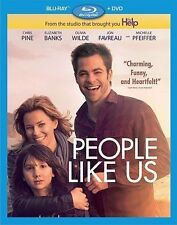 PEOPLE LIKE US (Blu-ray/DVD, 2012, 2-Disc Set) New / Sealed / Free Shipping