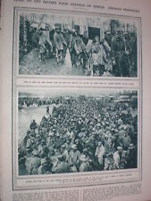 Photo article German Prisoners of war behind the allied front line 1917