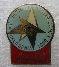 Pin's Jo Jeux Olympique California 1960 Coca Cola #1723