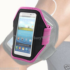 Pink Premium Armband Case Cover For Sony Xperia Z1