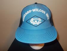 VTG-1970s Chicago Wilcox MFG Industrial north caorlina colors snapback hat sku12