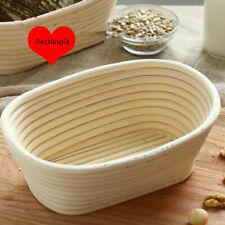 Bread Banneton Brotform Dough Basket Rising Rattan Bread Proofing Handmade New