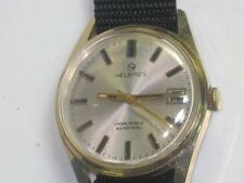 VERY NICE AND PERFECT HELBROS WATCH - OVER SIZE - 1950-WORKING
