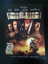 Pirates of the Caribbean: The Curse of Black Pearl DVD - 2 Disc, NEW