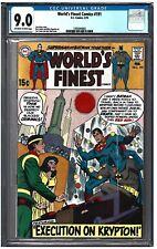 WORLD'S FINEST COMICS #191 CGC 9.0 (2/70) DC comics