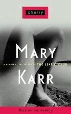 Cherry Mary Karr  4 Tape Audio Cassettes Abridged