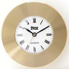 CLOCK Chart Weight BRASS Nautical Gift Weems & Plath 610500 Paperweight NEW!!