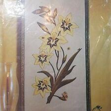 Vintage Paragon Crewel Stitchery Kit Golden Lillies - 1976 - New/Sealed