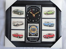 Classic Lancia Stunning Collector Cards Wall Clock