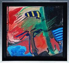 Hans Zern zeroo 1943-2009: bombi nella testa, OLIO-TECNICA MISTA-dipinti, 27 x 29 cm