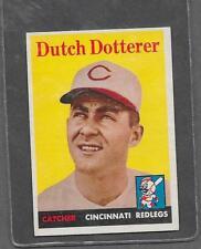 1958 Topps Baseball #396 Dutch Dotterer EX *6295