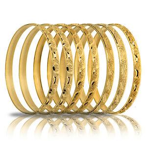 GOLD TONE- 7 DAY SEMANARIO BANGLES-USA SELLER