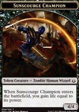 Sunscourge Champion Token (9/12) NM X4-Hour of Devastation- MTG
