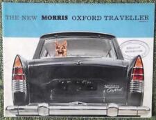 Morris Paper 1960 Car Sales Brochures