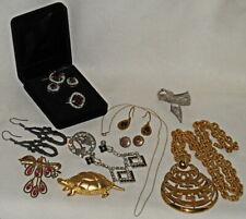 ESTATE JEWELRY LOT, 1940s-2000s, 10K GOLD CHAIN, KRASNE OF CALIFORNIA, BSK...