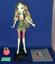 Monster High Doll Lagoona Blue Picture Day Loose w/Stand Accessories Mattel