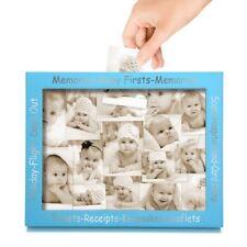 Baby Large Memory Frame Photo Keepsake Collection Box Newborn Unisex Pregnancy