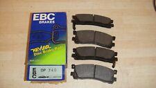 MAZDA XEDOS 9,MPV EBC STANDARD REAR BRAKE PADS P/N DP740 QUALITY BRAKE PADS
