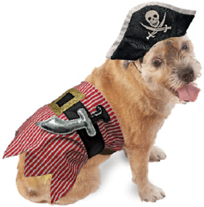 Halloween Pirate Costume for Dogs - 2 piece costume for your dog for the holiday