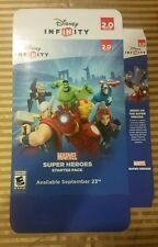 Large Disney Infinity Marvel Super Heroes Buildable Display Box