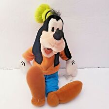 """Disney Store 15"""" Goofy Stuffed Animal Plush Doll Toy - Classic Outfit"""