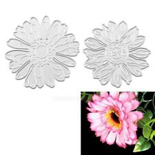 2 X Daisy Metal Cutting Dies Stencil DIY Scrapbooking Paper Embossing Card Craft