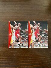 "1994-95 Upper Deck SP Michael Jordan Card #MJ1 ""He's Back"" Bulls. Lot of 2"