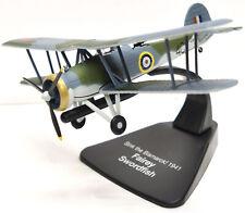 Fairey Swordfish, Sink The Bismark! 1941, 1:72 Scale Diecast Model