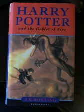 Harry Potter and the Goblet of Fire, Bloomsbury, UK, with dust jacket