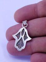 Bijou bérbere Maroc ethnique  main de Fatma-Berber jewelry ethnic Morocco