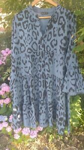 Summer Dress By New Collection Made Italy Approx Size 20
