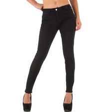 Coloured Damen-Jeans mit mittlerer Bundhöhe und M