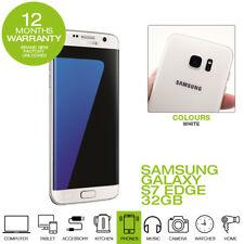 SAMSUNG GALAXY S7 EDGE 32GB SIM FREE FACTORY UNLOCKED 2 YEARS WARRANTY-White